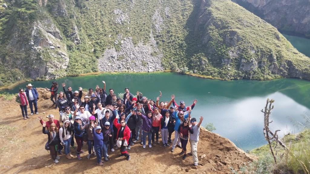 laguna huallhuas 2015
