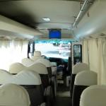 Interior Minibus Mitsubishi